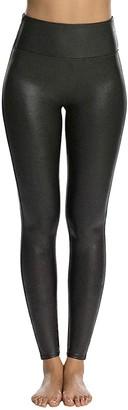 SPANX Faux Leather Leggings in Black