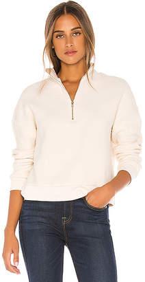 Monrow Teddy Fleece Sporty Pullover