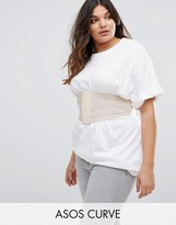 Asos Wide Elasticated Waist Belt