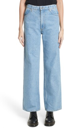 Eckhaus Latta EL Wide Leg Jeans
