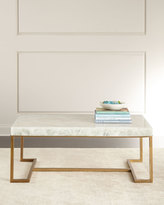 John-Richard Collection Cissy Calcite Coffee Table