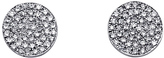 Majolie Collections Diamond Disc Earrings