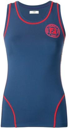 Fendi Logo Fitted Vest Top
