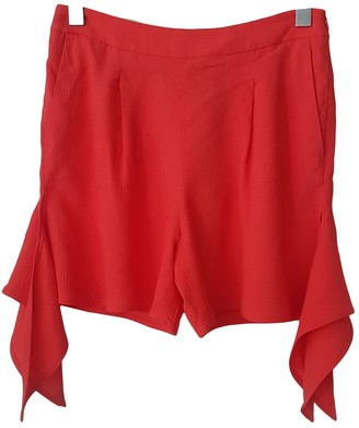 MSGM Pink Shorts for Women