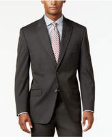 Sean John Men's Classic-Fit Brown Stripe Suit Jacket
