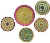 All Across Africa Asst. of 5 Hanging Textiles