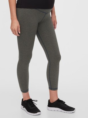 Gap Maternity GapFit Full Panel Propel 7/8 Leggings in Eclipse