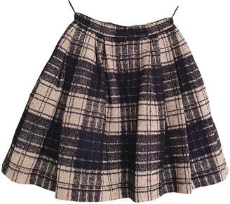 Cacharel Black Cotton Skirt for Women