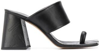 Maison Margiela Tabi toe mid-heel sandals