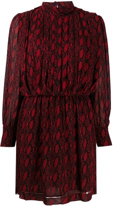 DEPARTMENT 5 Snake Print Dress
