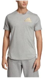 adidas Men's Regular Fit Metallic Badge of Sport Workout T-Shirt