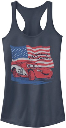 Licensed Character Juniors' Cars Lightning McQueen American Flag Tank