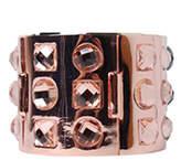 PeepToe Style Gem Bracelet Peach