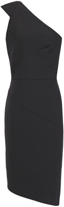 Narciso Rodriguez One-shoulder Wool-twill Dress