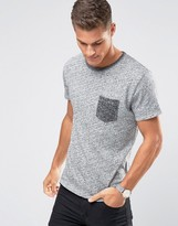 Selected T-Shirt With Contrast Pocket