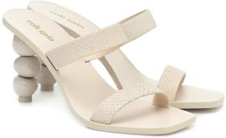 Cult Gaia Meta leather sandals