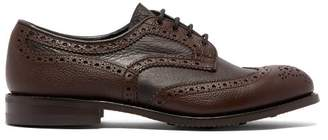 Tricker's Bowood Leather Brogues - Mens - Brown