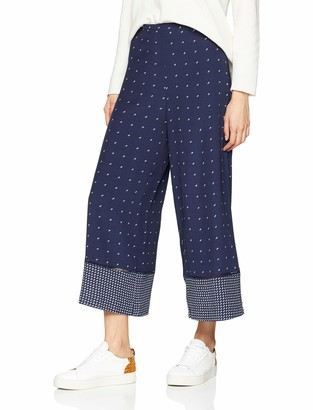 French Connection Women's Catalina Wide Leg Patterned Pant