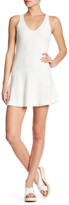 David Lerner Peplum Sleeveless Dress