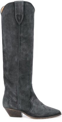 Isabel Marant Denvee knee-high cowboy boots