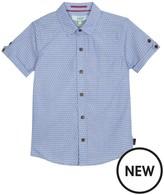 Ted Baker Boys' Blue Printed Shirt