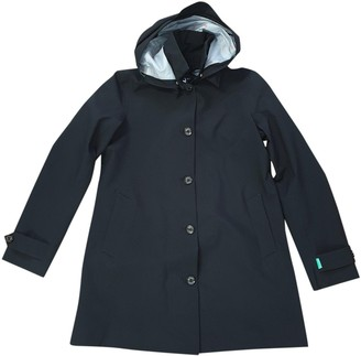 Save The Duck Black Trench Coat for Women
