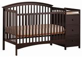 Stork Craft Bradford Fixed Side 4-in-1 Convertible Crib Changer