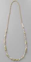 Golden Nugget Long Necklace
