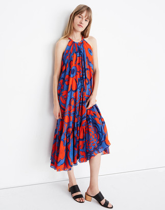 Madewell WHIT Floral Orly Maxi Dress