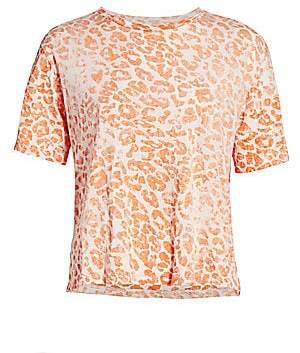 Le Superbe Women's Leopard-Print T-Shirt