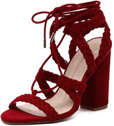 Mollini Fame Red Suede