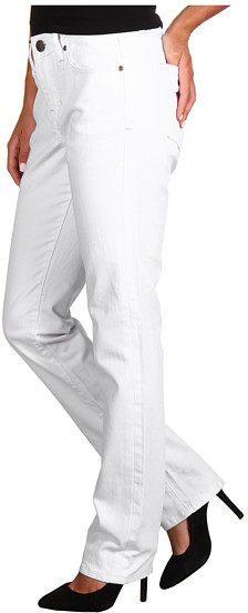 Jag Jeans Jackson Mid-Rise Straight in White