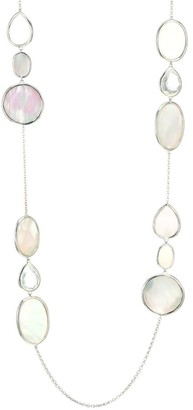 Ippolita Polished Rock Candy Sterling Silver, Mother-Of-Pearl & Clear Quartz Mixed-Shape Necklace