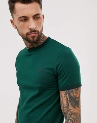 Fred Perry ringer t-shirt in green