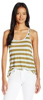 Volcom Junior's Lived In Stripe Rib Tank