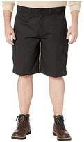 Dickies Big Tall 11 Cargo Work Active Waist Shorts Regular Fit (Black) Men's Shorts