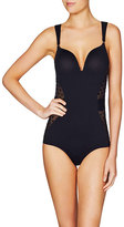 Stella McCartney Olivia Humming Polka-Dot Bodysuit, Black