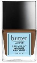 Butter London 'Sheer Wisdom(TM)' Nail Tinted Moisturizer - Deep