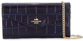 Coach croco-effect wallet