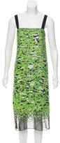 Proenza Schouler Silk Sequined Dress