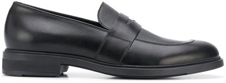 HUGO BOSS Leather Penny Loafers