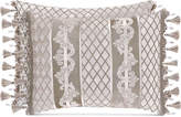 "J Queen New York Bel Air Sand Boudoir 20"" x 12"" Decorative Pillow Bedding"