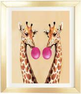 Deny Designs Coco De Paris Giraffes With Bubblegum 1 By Glam Decor
