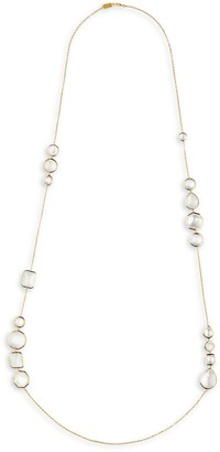 Ippolita Rock Candy Flirt 18K Multi-Stone & Yellow Gold Hero Necklace