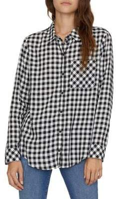 Sanctuary Keeper's Checkered Boyfriend Shirt