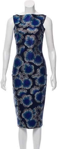 c053d3a9 Chiara Boni Blue Sheath Dresses - ShopStyle