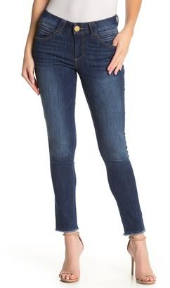Democracy AB Tech Frayed Crop Jeans