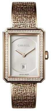Chanel BOYFRIEND TWEED Watch