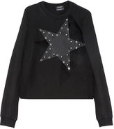 Anthony Vaccarello Star Stud Sweater