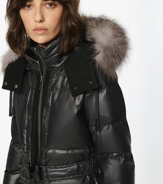 Andrew Marc Morro Coated Down Jacket